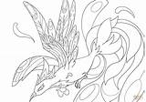 Coloring Phoenix Pages Printable Drawing Colorings Paper sketch template