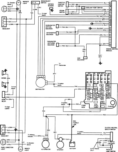 wiring diagram distributor 1986 chevrolet 305 get free 1986 chevy c10 wiring diagram power windows autos post
