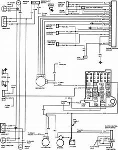 Wiring Diagram For 86 Chevy Truck