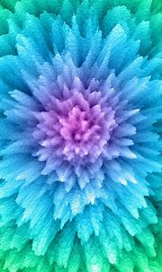 Abstract Flower Fantasy Colorful Gradient Technology ...