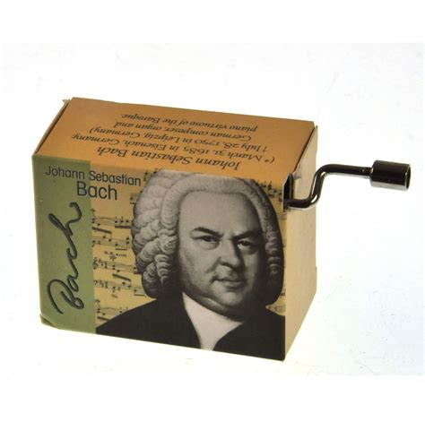 Johann Sebastian Bach Air Music Box Pink Cat Shop