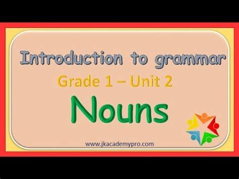 nouns grade  nouns nouns  grade  youtube