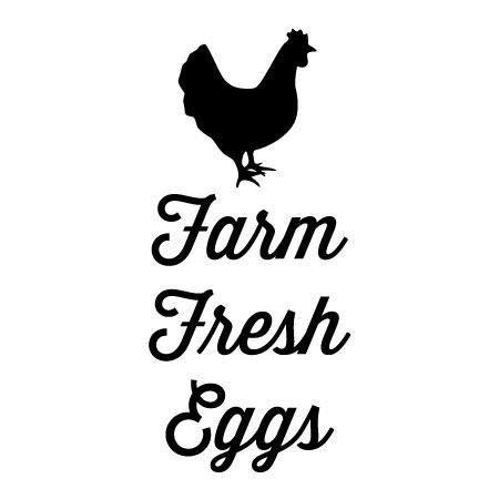 farm fresh eggs wall quotes decal wallquotescom