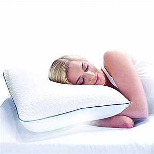 bed pillows sleep innovations forever cool gel memory foam With constant cool pillow