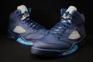 Air Jordan Retro 5 Midnight Navy Blue