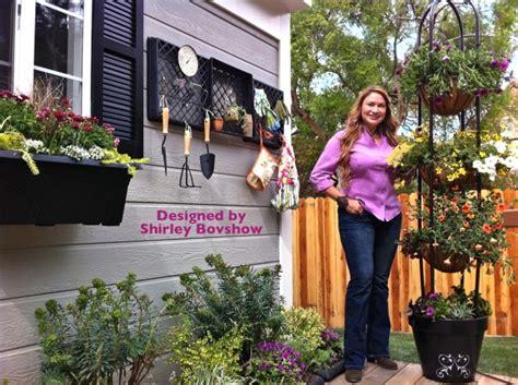 deck garden makeover home family show part  eden