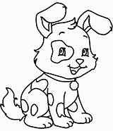 Coloring Pages Easy Printable Dogs Popular sketch template