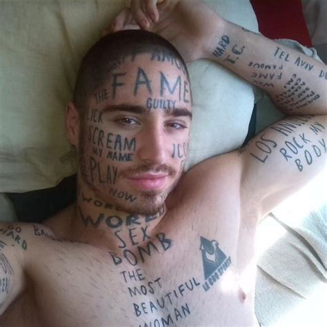 Model Gets Random Buzzwords Inked On Face In Hopes Of