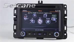 Original 2013 2014 2015 Dodge Ram 1500 Stereo Upgrade To Gps Radio Tv Usb Pop Canbus Rearview