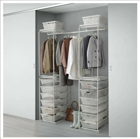 Offener Schrank Ikea by Open Wardrobe Storage Ikea Algot In