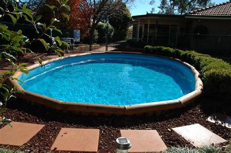 ideas semi inground pool ideas  exciting backyard