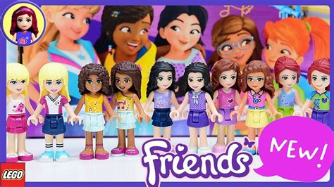 New Look For Lego Friends Minidolls 2018 Makeover  What's