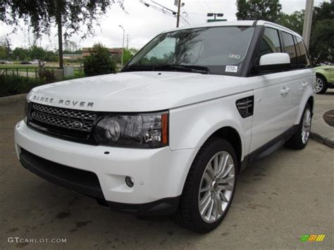 Fuji White 2013 Land Rover Range Rover Sport Hse Exterior