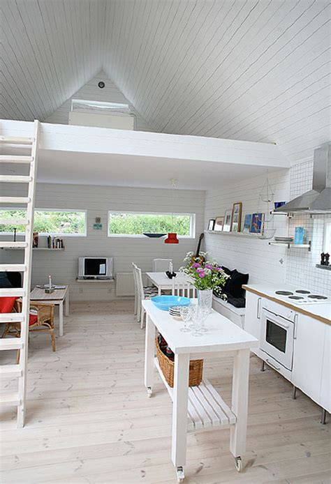 All White Home Interiors by All White Tiny Home Interior In Sweden Tiny House Pins