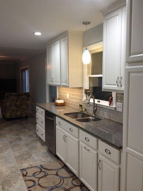 houzz kitchen sink cabinets coconut paint transitional kitchen 1734