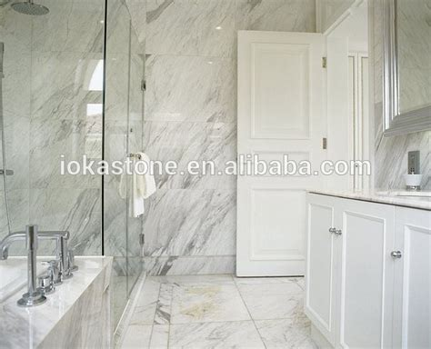 white calacatta marble bathroom tile design buy white