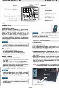 Mertik Maxitrol And Kg G6rh Handset Of Remote Electronic
