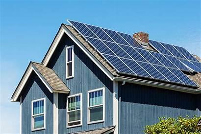 Energy Solar Panels Roof Modern American