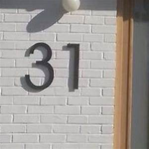 acrylic letters and numbers large black house number With black house letters