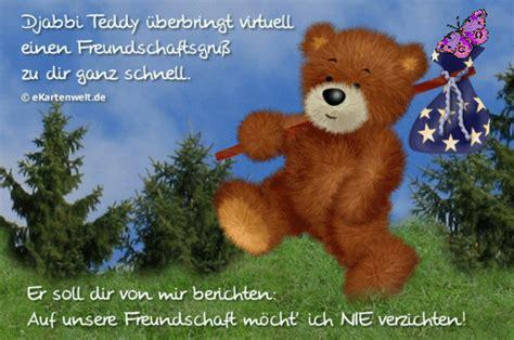 djabbi teddy ueberbringt virtuell einen freundschaftsgruss