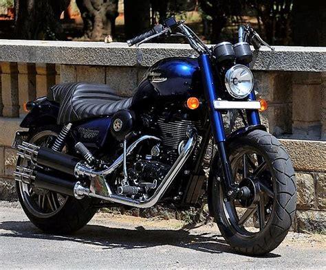 Modification Royal Enfield by Royal Enfield Chopper Modified Bike India Hobbiesxstyle