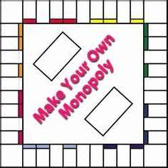 Custom Monopoly Board Template by Free Printable Blank Board Template 6 501 Auction