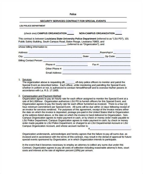 proposal contract templates    premium