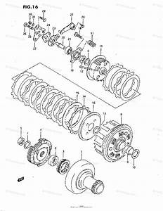 Suzuki Atv 1993 Oem Parts Diagram For Clutch
