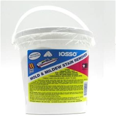 Boat Upholstery Mildew Remover by Iosso 174 Mold Mildew Stain Remover Gallon