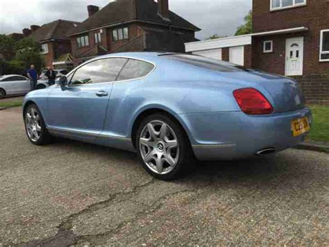 bentley continental gt mulliner auto  silver blue part