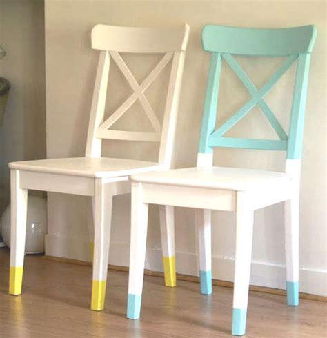 repeindre des chaises repeindre et relooker un vieux meuble