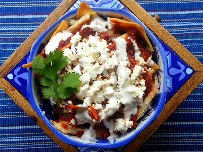 chilaquiles rojos recipe mexican food los