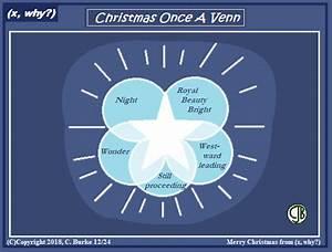 X  Why    Christmas Once A Venn