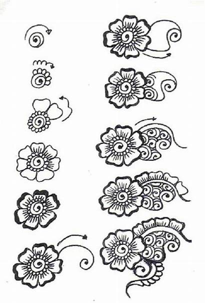 Designs Step Mehndi Tutorial Heena Apply Patterns