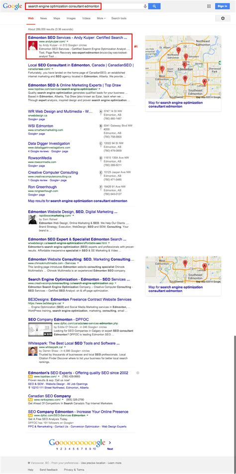 Search Engine Optimization Consultant andy kuiper marketing edmonton seo expert