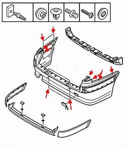 How To Remove Front And Rear Bumper  Peugeot 406