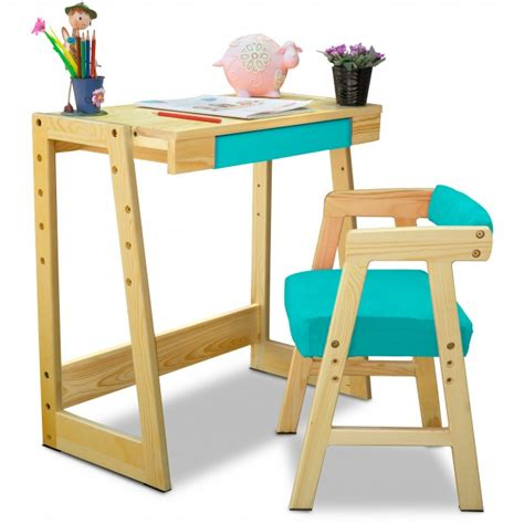 pineworks study table chair set