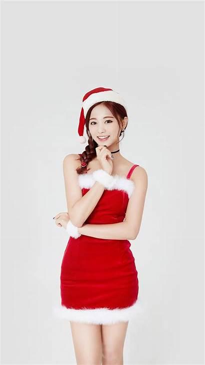 Twice Christmas Kpop Tzuyu Iphone Hp14 Papers