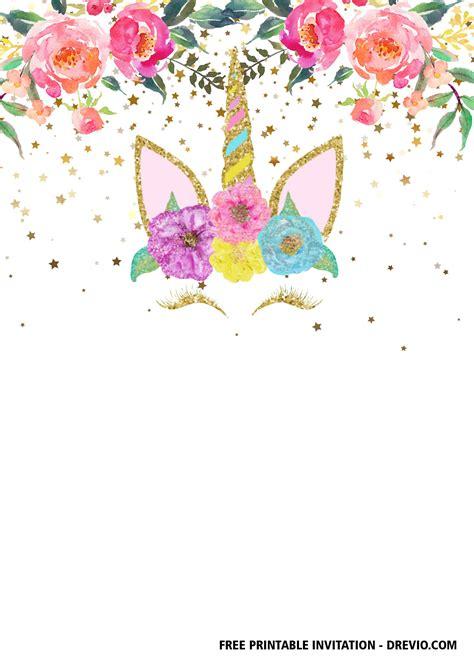 printable unicorn invitation templates dolanpedia