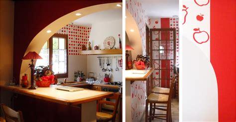 revetements muraux cuisine papier peint dé