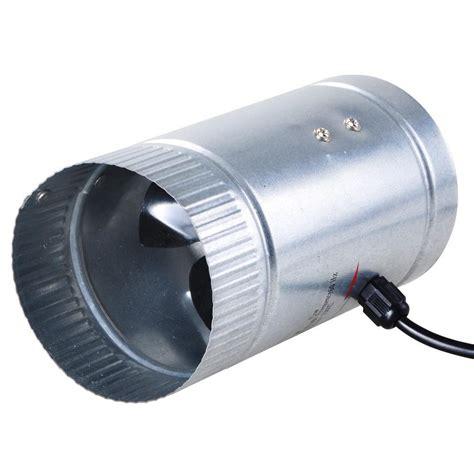 4 inch fan ducting 4 quot inch duct booster inline blower fan exhaust