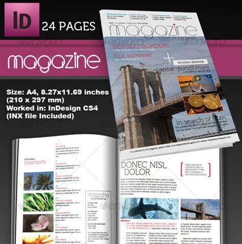 indesign magazine 25 photoshop indesign magazine cover templates psd idesignow