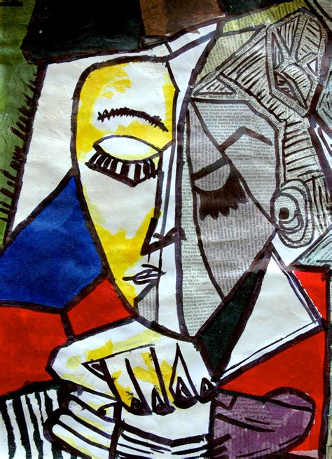 In This Exercise One Of The Famous Cubist Portraits
