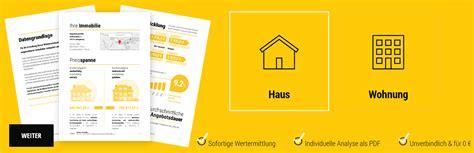 immobilienbewertung kostenlose immobilienbewertung