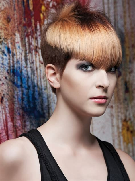 Shades Hairstyles by Haircut With Graduated Sides And Different Shades Of