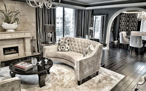 Grey And Purple Living Room Ideas by Interior Design Ideas For A Glamorous Living Room