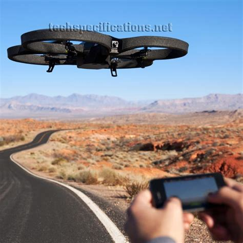 parrot ardrone  power edition technical specifications