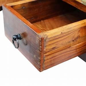 vidaxl coffee table drawers solid reclaimed wood 90x45x35 With reclaimed wood coffee table with drawers