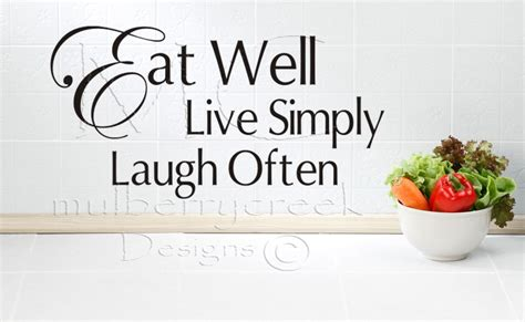 stickers phrase cuisine kitchen wall decals quotes afreakatheart