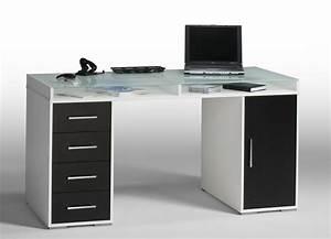 Schreibtisch Weiß Schwarz : schreibtisch computertisch pc tisch ben wei schwarz ebay ~ Buech-reservation.com Haus und Dekorationen